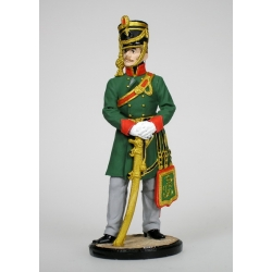 Officer Hussars. Baden, 1812