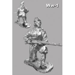 A female sniper (Ludmila Pavlicenco) ww-1
