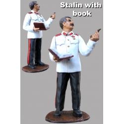 Сталин с книгой. Вторая Мировая война