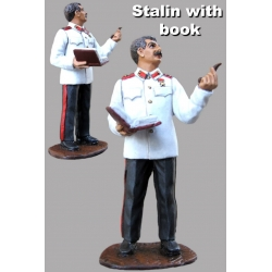 Stalin with the book. The Second World War