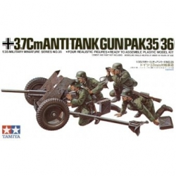 1/35 Tamiya 1/35 Немецкая 37-мм противотанковая пушка PAK35/36