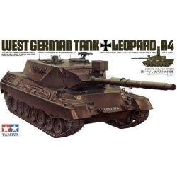 1/35 Танк LEOPARD A4 с 1 фигурой бойца WWII