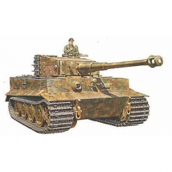1/35 Tank Tiger I Ausf.E (late version) WWII