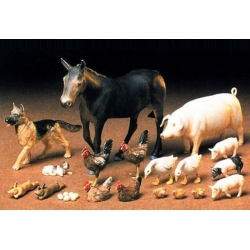 "A set of ""animal figures'"