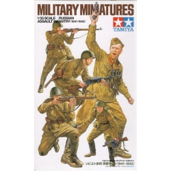 1/35 Советские пехотинцы 1941-1942 гг (5 фигур) WW2