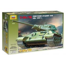 WW2 Soviet tank T-34