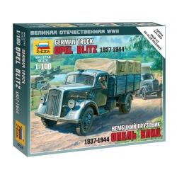 WW2 German truck Opel Blitz 1937-1944
