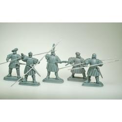 Битва при Павии 1525 год, французы
