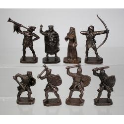 Knights tournament, walking figures (PTS-4032c)