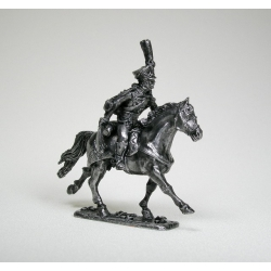 Hussar cavalry officer, Russia (blacked) 1576