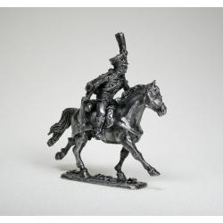 Русский конный гусар, офицер (чернение) 1576