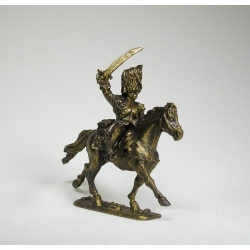 French horse grenadier officer (cover bronze) 1730