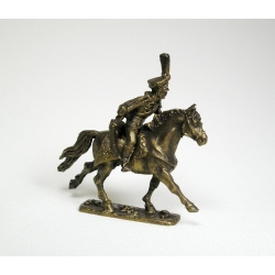 Hussar cavalry officer, Russia (cover bronze) 1576
