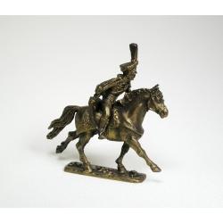 Руский конный гусар, офицер (под бронзу) 1576