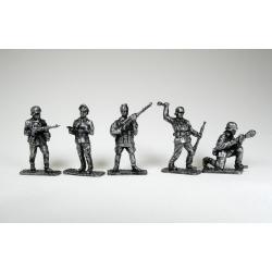 Великая Отечественная Война, Немцы (5 шт.) чернение