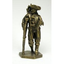 Captain Silver (painted bronze)