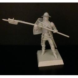 Genoa warrior with a halberd (mercenary), army Mamaia
