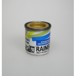 Rainbow paint Brass