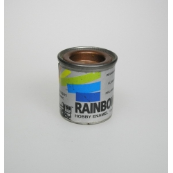 Rainbow paint Copper