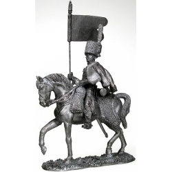 Bearer Guards Cavalry rangers. France 1808 (blacked)