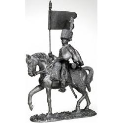 Знаменосец Гвардейских Конных егерей. Франция 1808 г. (чернение)