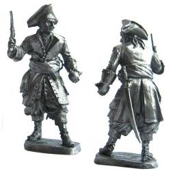 Pirat, 17-18 c