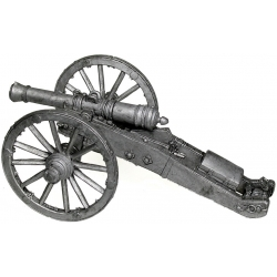 6 pound cannon walking and horse artillery. Russia, the 1st half of the 19th century