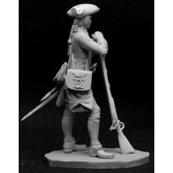 Шведский мушкетер пехотного полка (Великая Северная Война), 1708-21 гг. (CHM-54001)