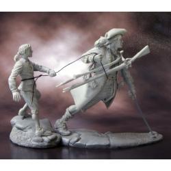 Treasure Island: John Silver & Jim Hawkins, 18th c.,2 figures1 (CHM-54050(M))