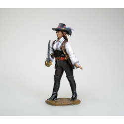 Woman pirate (painted)