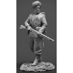Havildar (sergeant) 15th Bengal Native Infantry regiment, British India 1890-98 (CHM-54004)