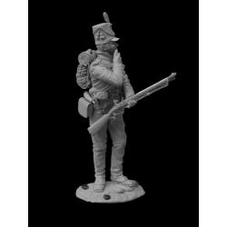 Британский сержант 60-го (Королевского Американского) полка, 1813-14 гг. (CHM-54013(M))