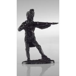 Бородино. Французский рядовой стреляющий с плеча