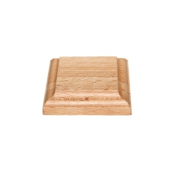 Wooden stand 80x80x17, beech (S26B)