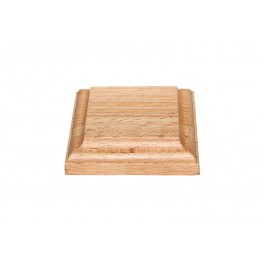 Wooden stand 80x80x17, beech (S26B)