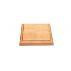 Wooden stand 120x120x17, beech (S210B)