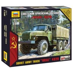 """Soviet military truck """"Ural"""" 4320 (7417)"""