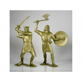 Barbarians, set of two figures 3 (15 cm)