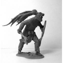Aztec Jaguar warrior, XIV-XVI century (CHM-54059)