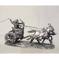 Persian war chariot (40 mm, blackening)