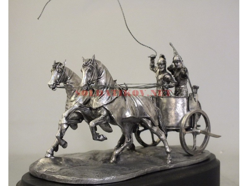 Carthage War Chariot 54 Mm Blackening Магазин