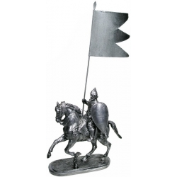 Витязь на коне с флагом (1.30-1)