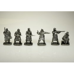 The Battle of Stalingrad. Wehrmacht. Pewter (PTS-4027pw)