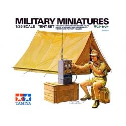 1/35 Немецкий радист с палаткой и оборудованием, Африканский корпус WW2