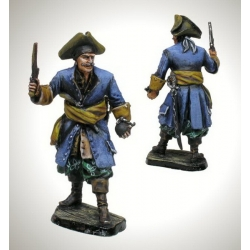 Pirat, 17-18th century (painted)