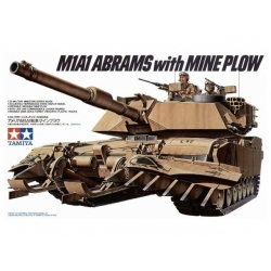 1/35 Амер. танк M1A1 Abrams w/Mine Plow и 2 фигуры