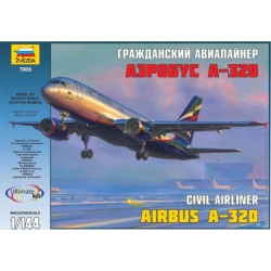 Гражданский авиалайнер Аэробус А-320 (7009)