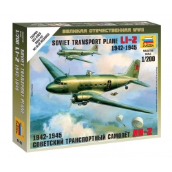 Soviet transport plane LI-2 (6140)