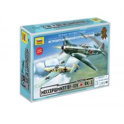 Bf-109 VS Yak-2 (5201)