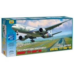 Пассажирский авиалайнер Боинг 777-300 ER (7012)